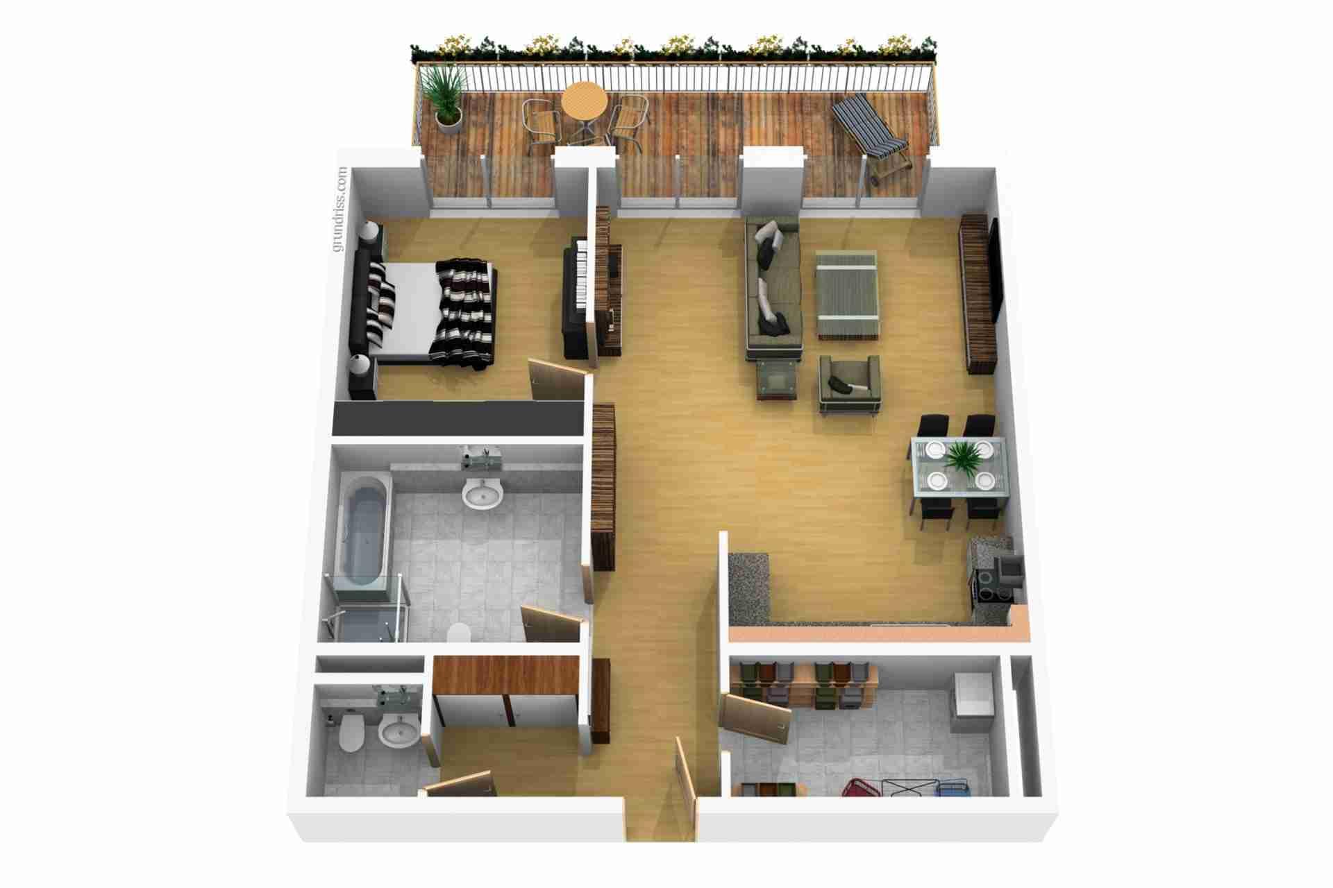 Beispiel Eigentumswohnung